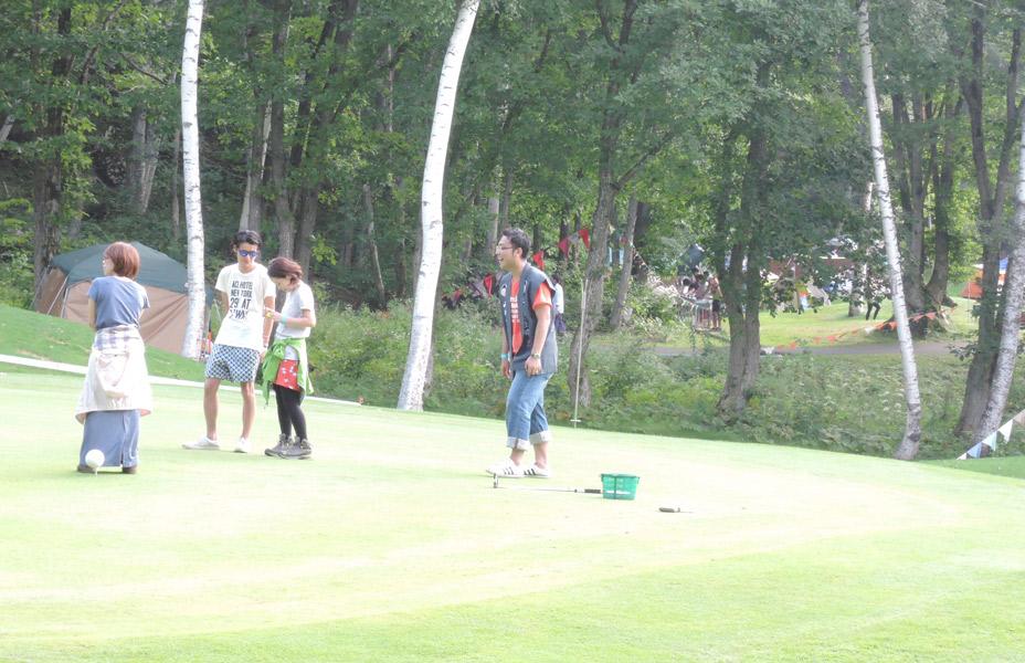 チャレンジ!!パターゴルフ