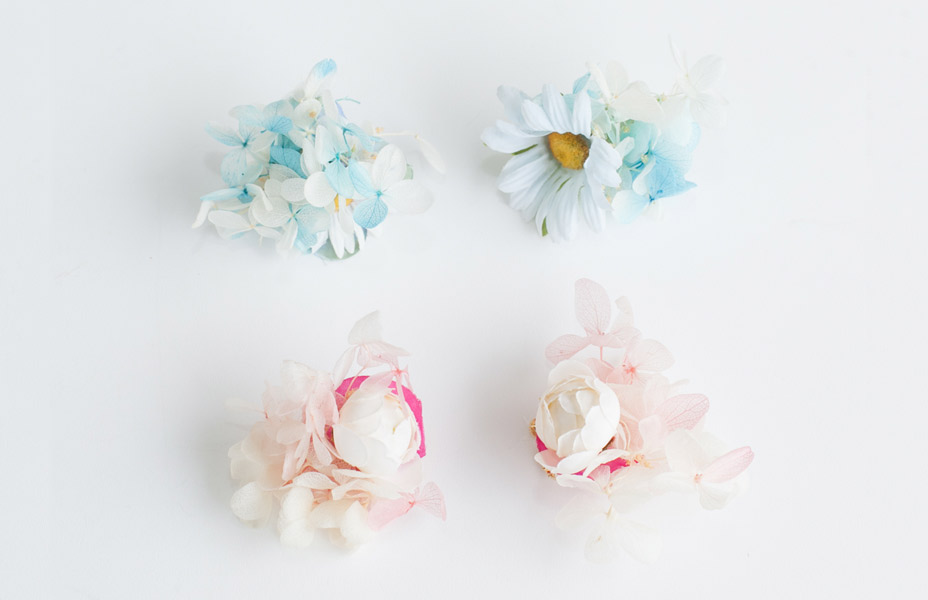 CHACOのお花の耳飾り